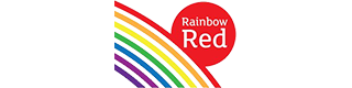 Rainbow Red logo